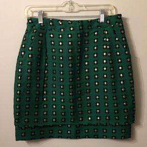 (1178).  NWOT.  Anthro HD in Paris skirt.  Size 6